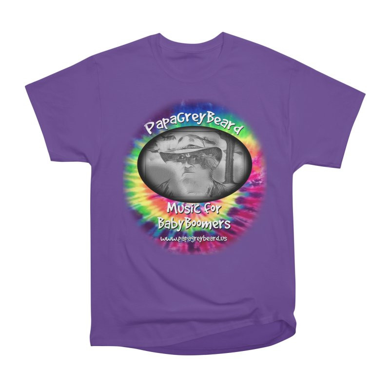 PapaGreyBeard Men's Heavyweight T-Shirt by PapaGreyBeard's Merchandise