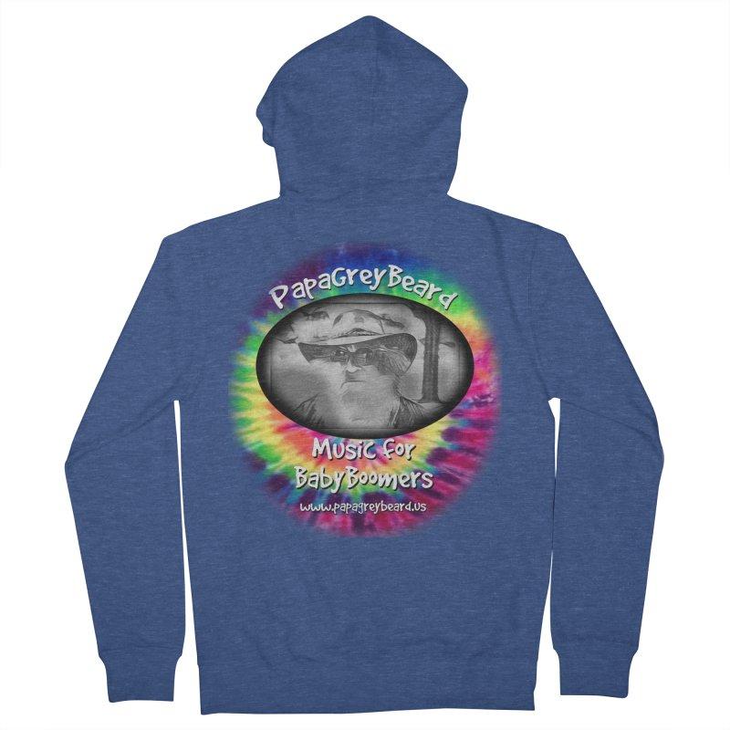 PapaGreyBeard Men's Zip-Up Hoody by PapaGreyBeard's Merchandise