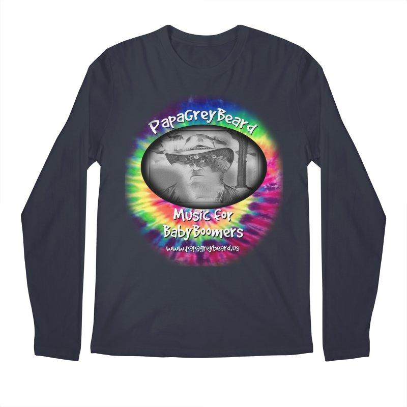 PapaGreyBeard Men's Regular Longsleeve T-Shirt by PapaGreyBeard's Merchandise
