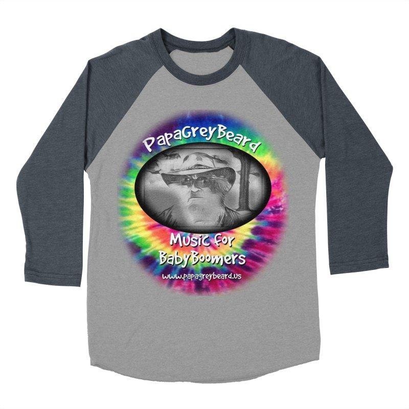 PapaGreyBeard Men's Baseball Triblend Longsleeve T-Shirt by PapaGreyBeard's Merchandise