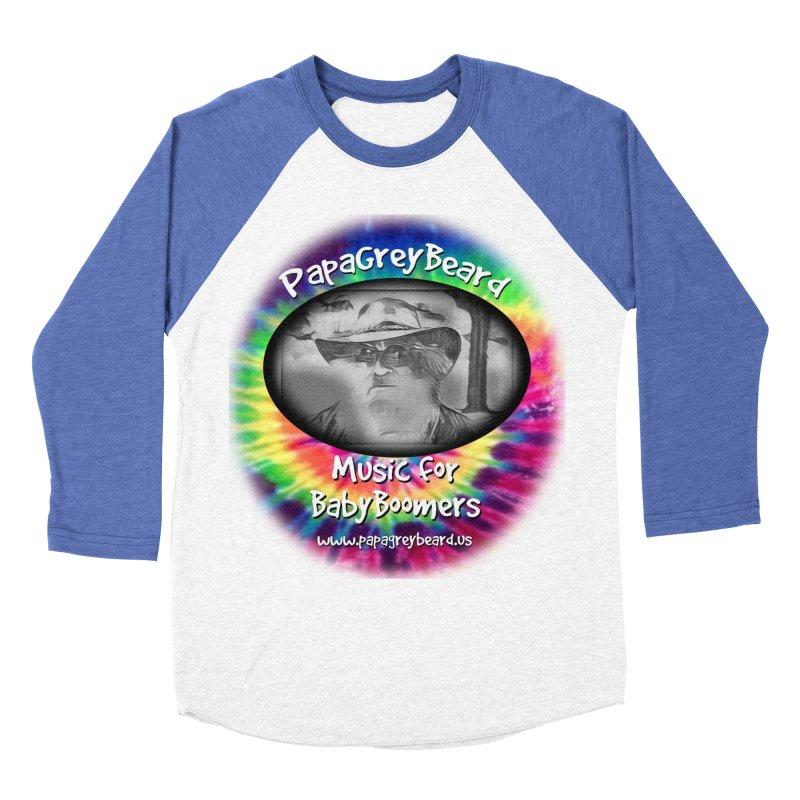 PapaGreyBeard Men's Baseball Triblend T-Shirt by PapaGreyBeard's Merchandise