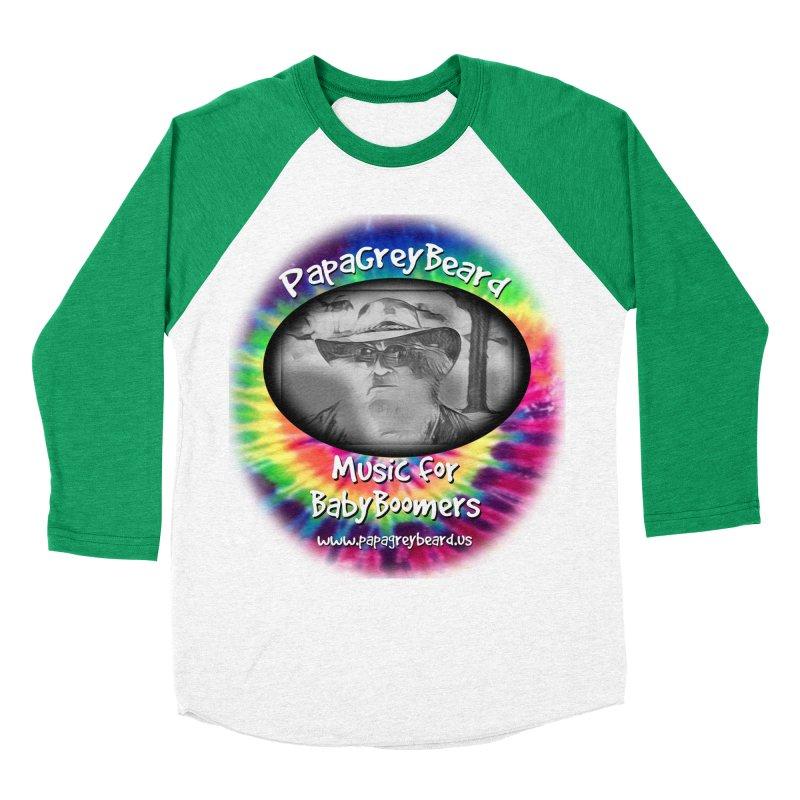 MusicForBabyBoomers Men's Baseball Triblend T-Shirt by PapaGreyBeard's Merchandise