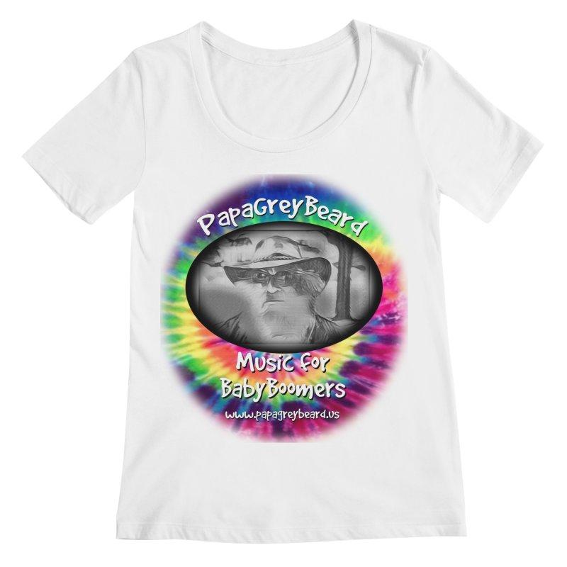 PapaGreyBeard Women's Scoopneck by PapaGreyBeard's Merchandise