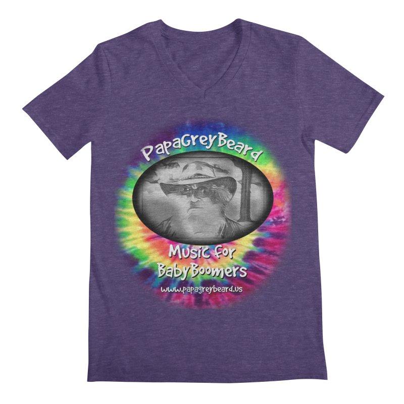 PapaGreyBeard Men's V-Neck by PapaGreyBeard's Merchandise