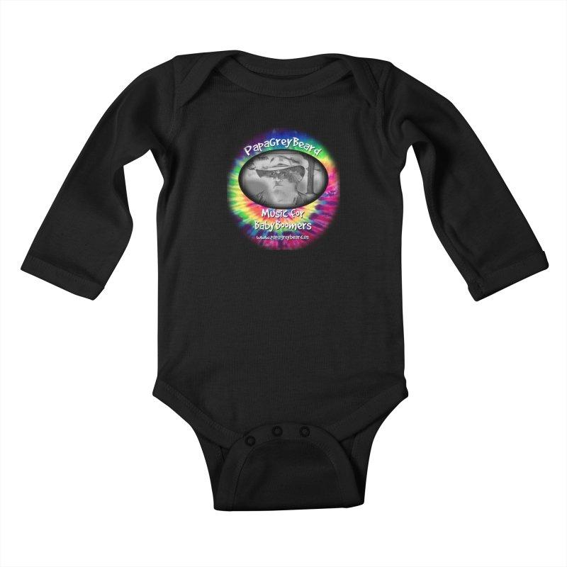 PapaGreyBeard Kids Baby Longsleeve Bodysuit by PapaGreyBeard's Merchandise