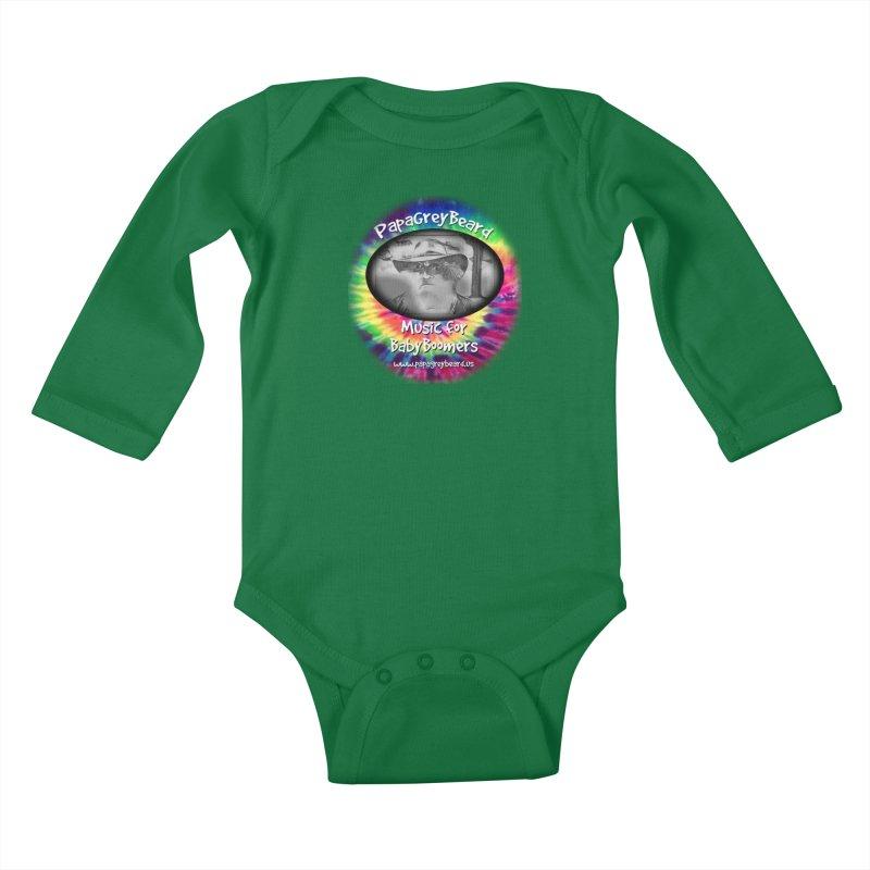 MusicForBabyBoomers Kids Baby Longsleeve Bodysuit by PapaGreyBeard's Merchandise
