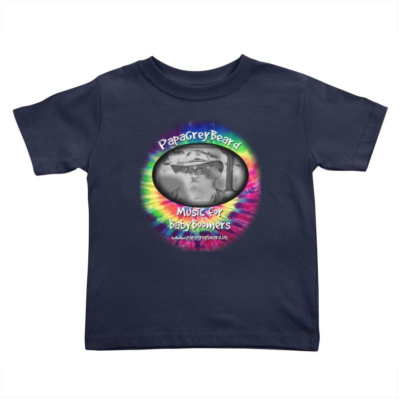 PapaGreyBeard Kids Toddler T-Shirt by PapaGreyBeard's Merchandise
