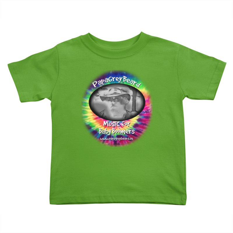PapaGreyBeard Kids Toddler T-Shirt by PapaGreyBeard's Merchandise