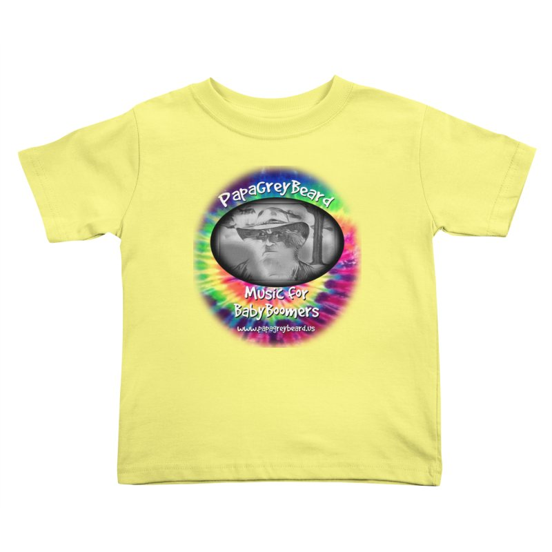 MusicForBabyBoomers Kids Toddler T-Shirt by PapaGreyBeard's Merchandise