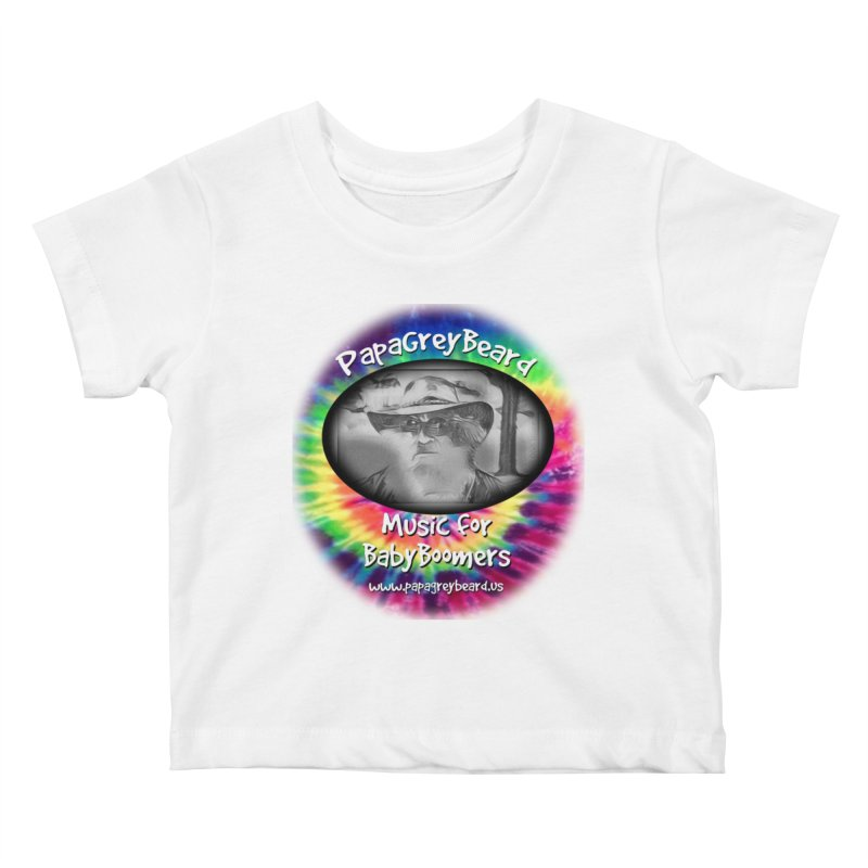 MusicForBabyBoomers Kids Baby T-Shirt by PapaGreyBeard's Merchandise