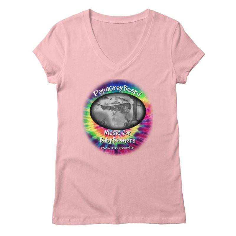 PapaGreyBeard Women's V-Neck by PapaGreyBeard's Merchandise