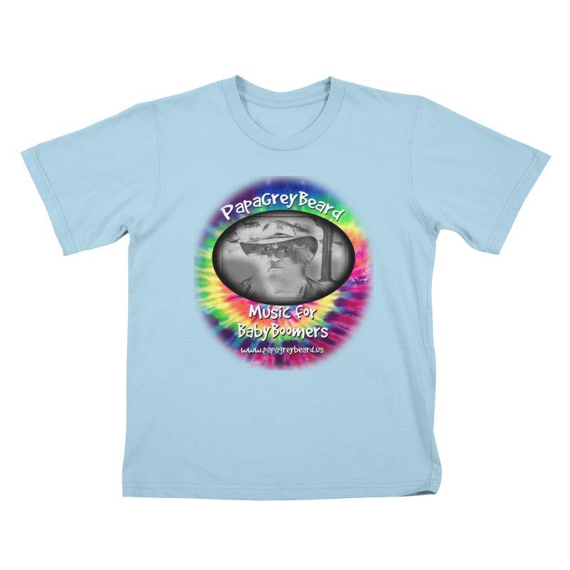 PapaGreyBeard Kids T-Shirt by PapaGreyBeard's Merchandise