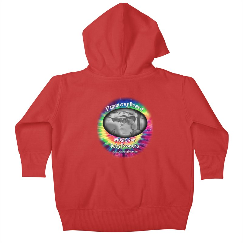 PapaGreyBeard Kids Baby Zip-Up Hoody by PapaGreyBeard's Merchandise