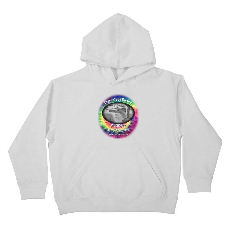 MusicForBabyBoomers Kids Pullover Hoody by PapaGreyBeard's Merchandise
