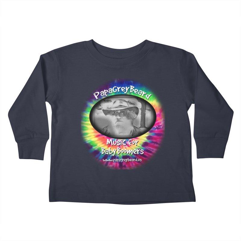 MusicForBabyBoomers Kids Toddler Longsleeve T-Shirt by PapaGreyBeard's Merchandise