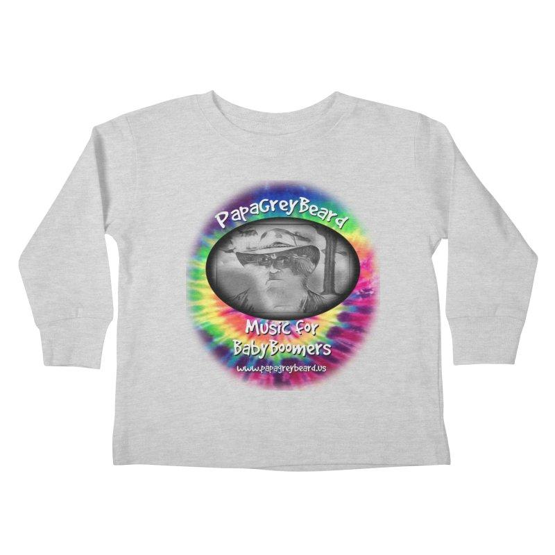 PapaGreyBeard Kids Toddler Longsleeve T-Shirt by PapaGreyBeard's Merchandise