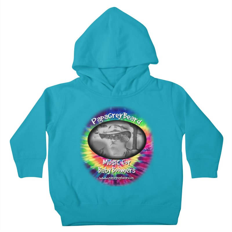 MusicForBabyBoomers Kids Toddler Pullover Hoody by PapaGreyBeard's Merchandise