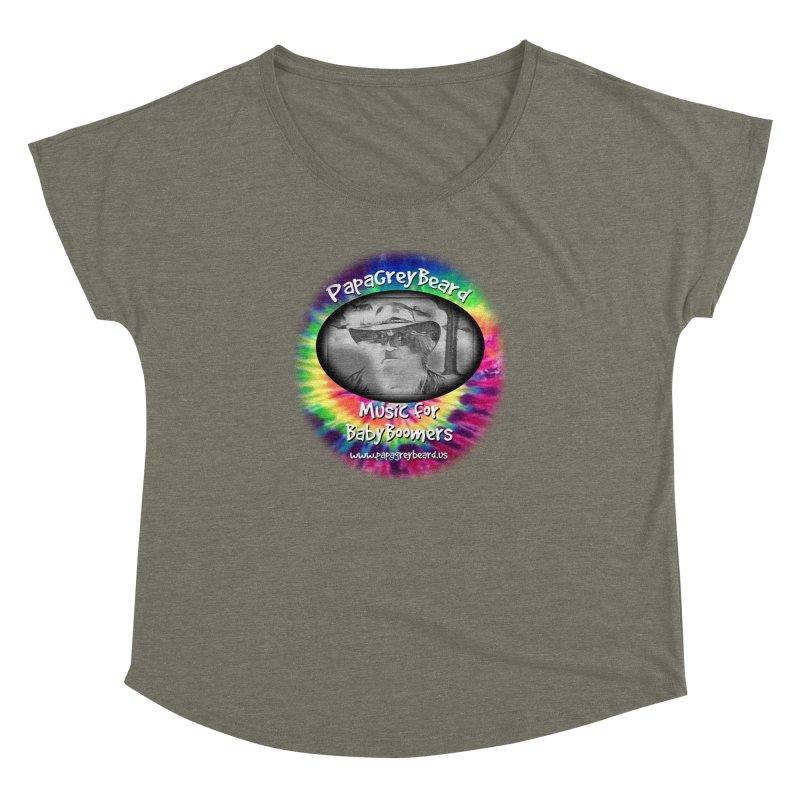 PapaGreyBeard Women's Dolman Scoop Neck by PapaGreyBeard's Merchandise