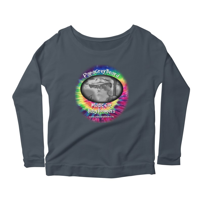 PapaGreyBeard Women's Longsleeve Scoopneck  by PapaGreyBeard's Merchandise
