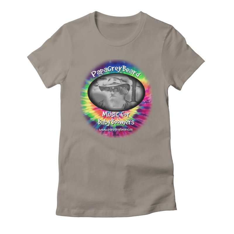 PapaGreyBeard Women's Fitted T-Shirt by PapaGreyBeard's Merchandise