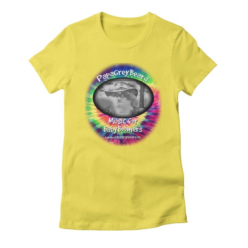 PapaGreyBeard Women's Fitted T-Shirt by PapaGreyBeard's Merchandise