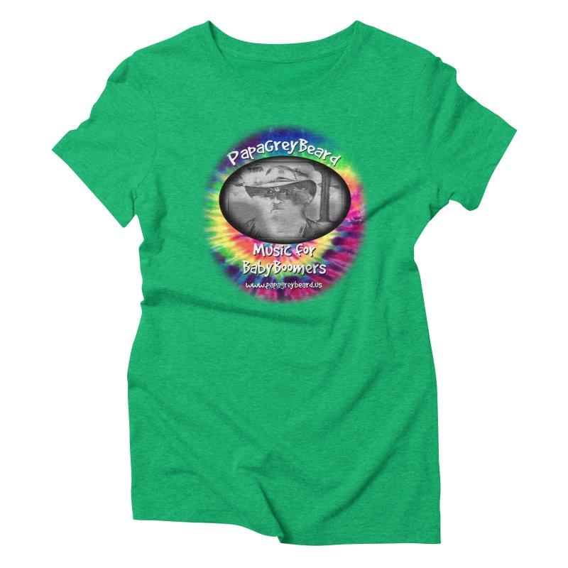 PapaGreyBeard Women's Triblend T-Shirt by PapaGreyBeard's Merchandise