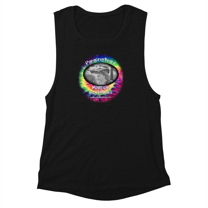 PapaGreyBeard Women's Muscle Tank by PapaGreyBeard's Merchandise