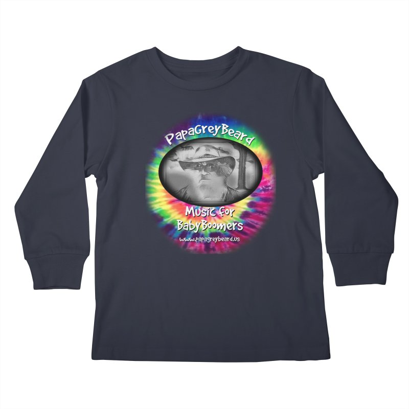 PapaGreyBeard Kids Longsleeve T-Shirt by PapaGreyBeard's Merchandise