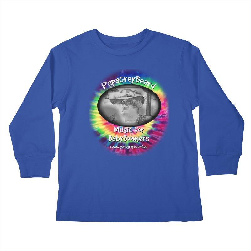 MusicForBabyBoomers Kids Longsleeve T-Shirt by PapaGreyBeard's Merchandise