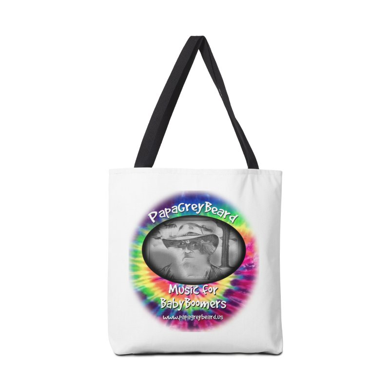 MusicForBabyBoomers Accessories Bag by PapaGreyBeard's Merchandise