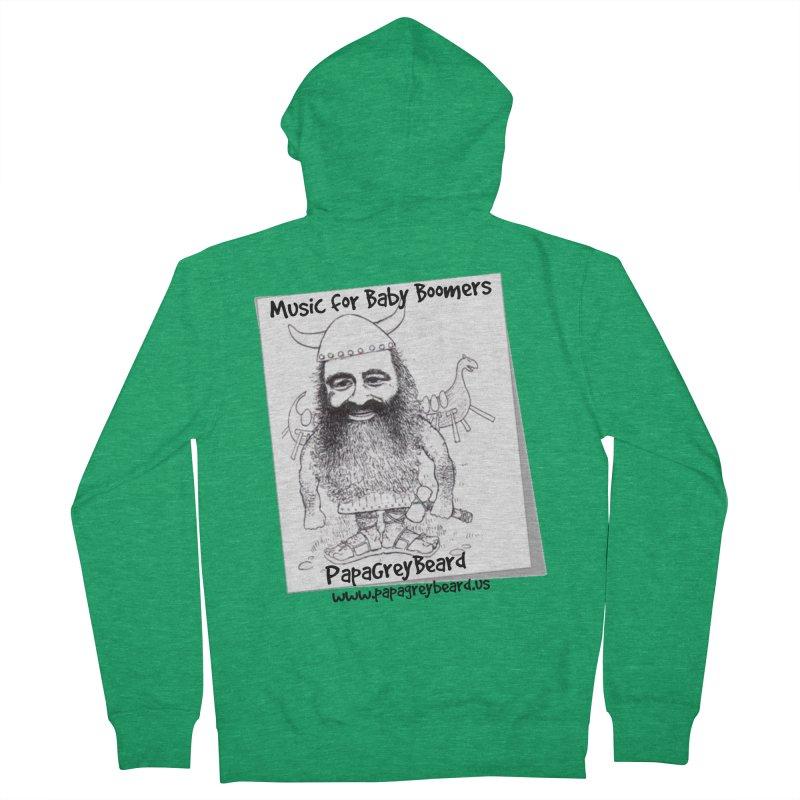 Viking Women's Zip-Up Hoody by PapaGreyBeard's Merchandise