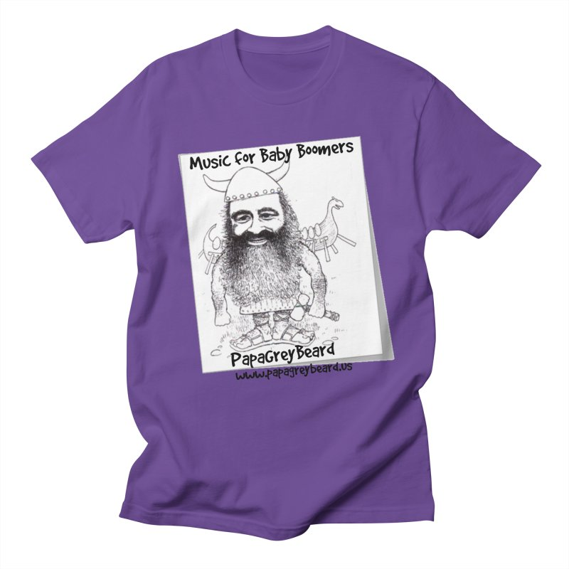Viking Men's T-Shirt by PapaGreyBeard's Merchandise