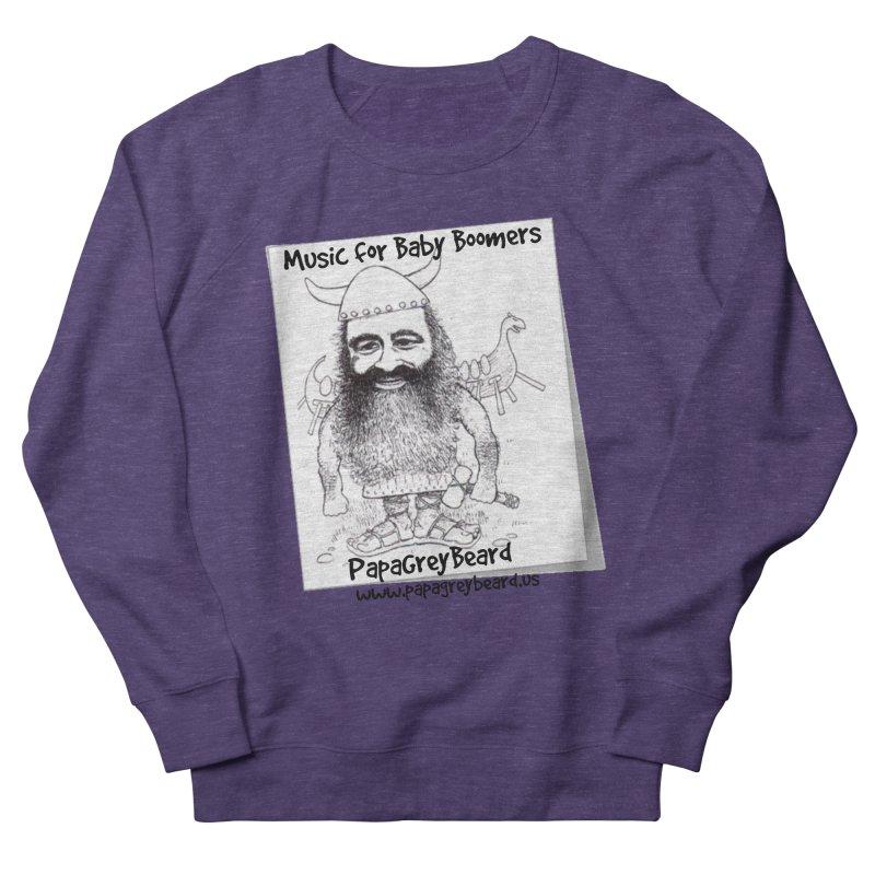 Viking Men's Sweatshirt by PapaGreyBeard's Merchandise