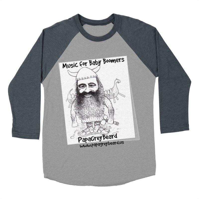 Viking Men's Baseball Triblend T-Shirt by PapaGreyBeard's Merchandise