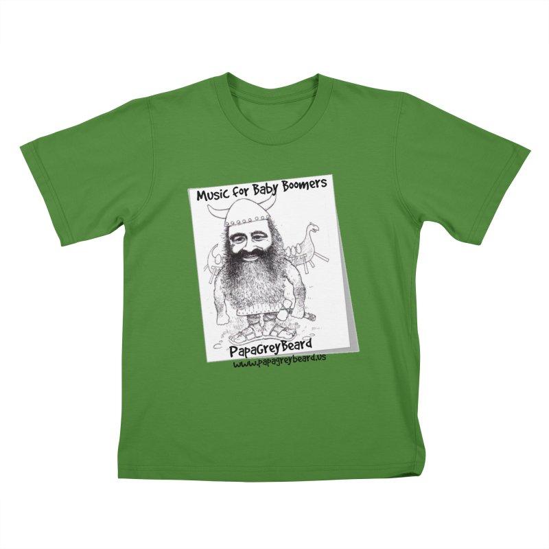 Viking Kids T-Shirt by PapaGreyBeard's Merchandise