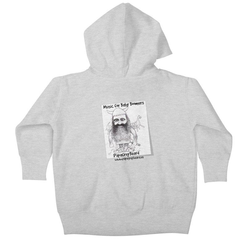 Viking Kids Baby Zip-Up Hoody by PapaGreyBeard's Merchandise