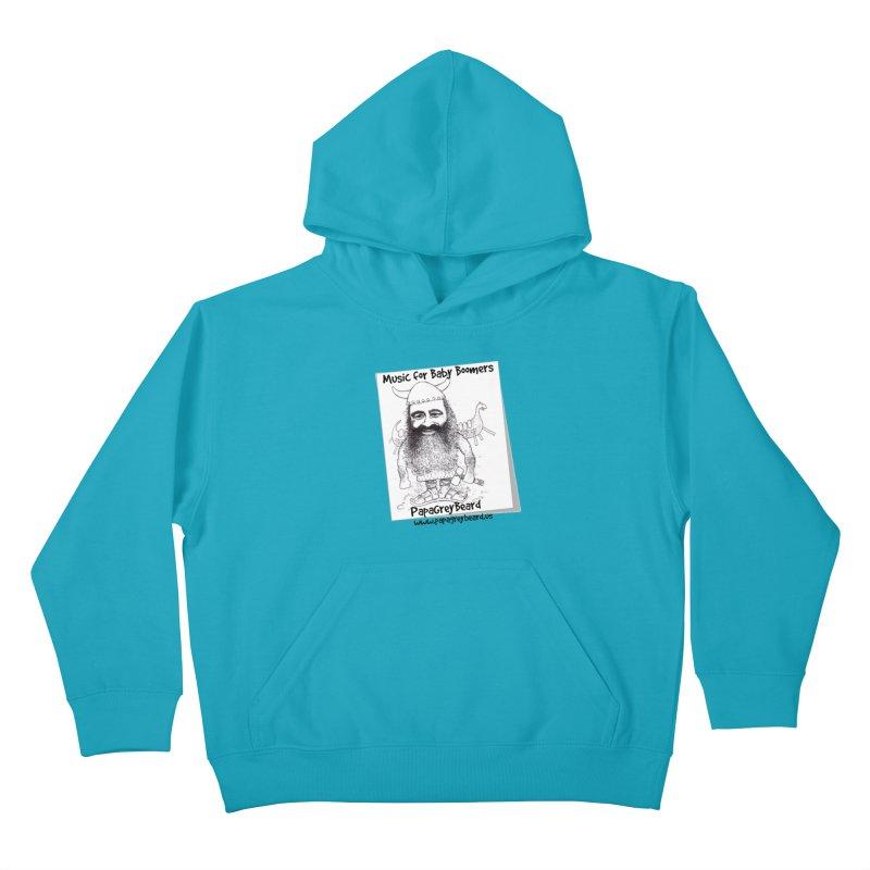 Viking Kids Pullover Hoody by PapaGreyBeard's Merchandise