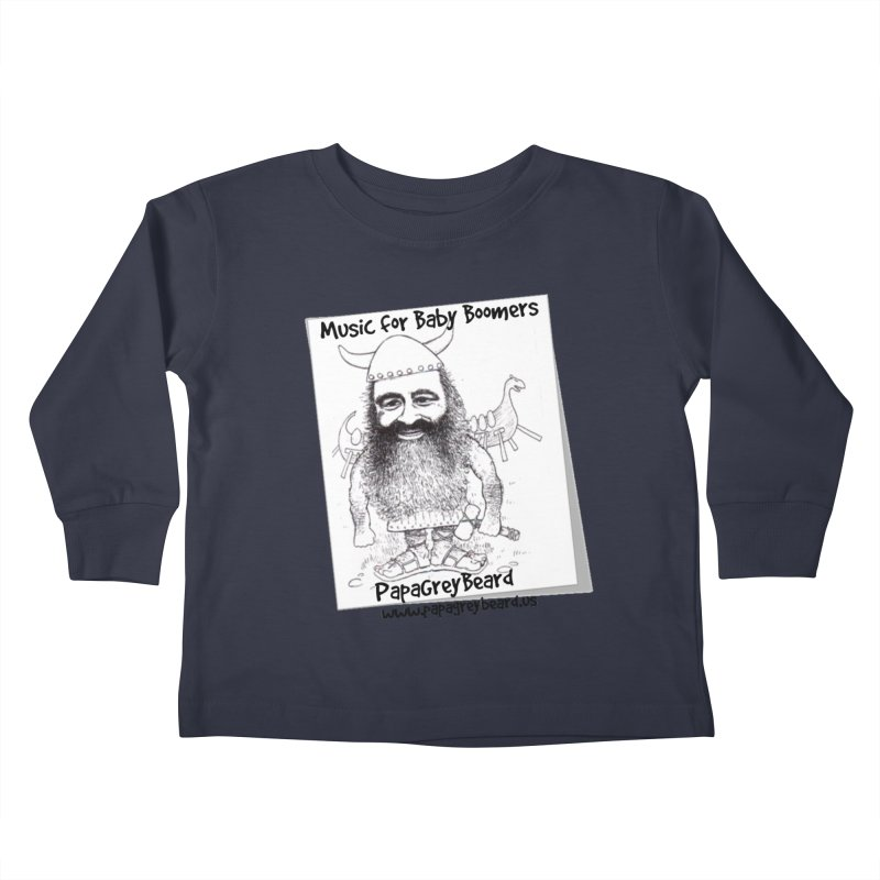 Viking Kids Toddler Longsleeve T-Shirt by PapaGreyBeard's Merchandise