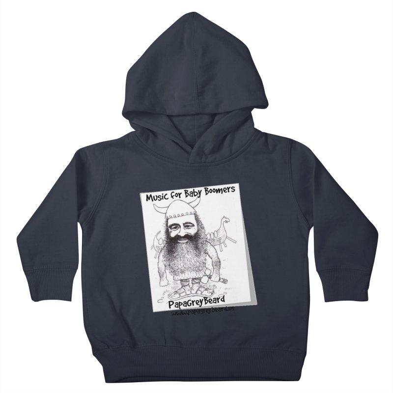 Viking Kids Toddler Pullover Hoody by PapaGreyBeard's Merchandise