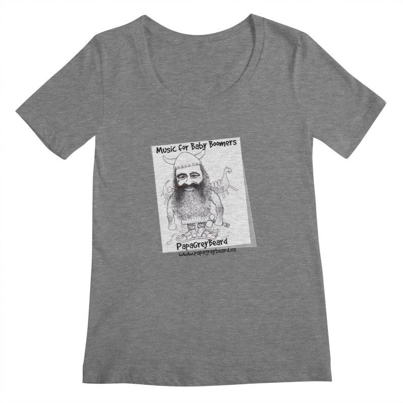 Viking Women's Scoopneck by PapaGreyBeard's Merchandise