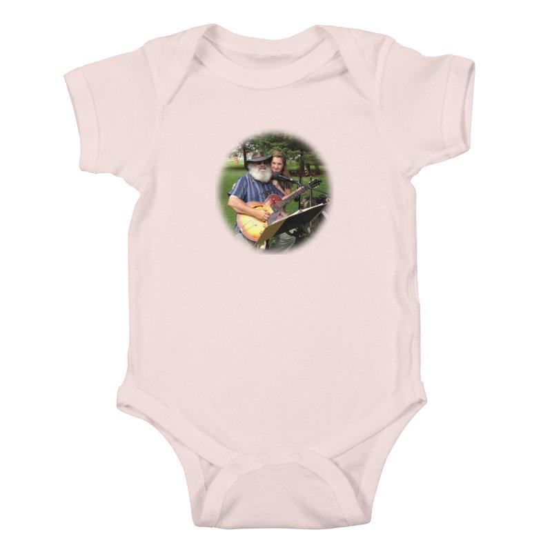 Kenz Kids Baby Bodysuit by PapaGreyBeard's Merchandise