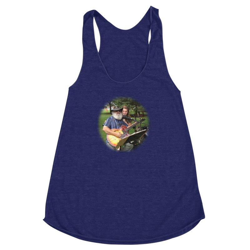 Kenz Women's Racerback Triblend Tank by PapaGreyBeard's Merchandise