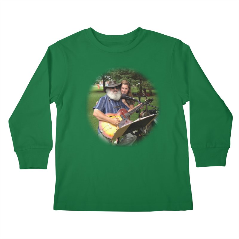 Kenz Kids Longsleeve T-Shirt by PapaGreyBeard's Merchandise