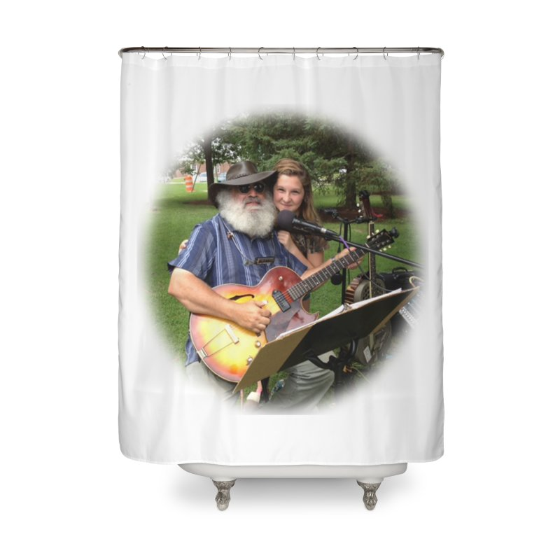 Kenz Home Shower Curtain by PapaGreyBeard's Merchandise