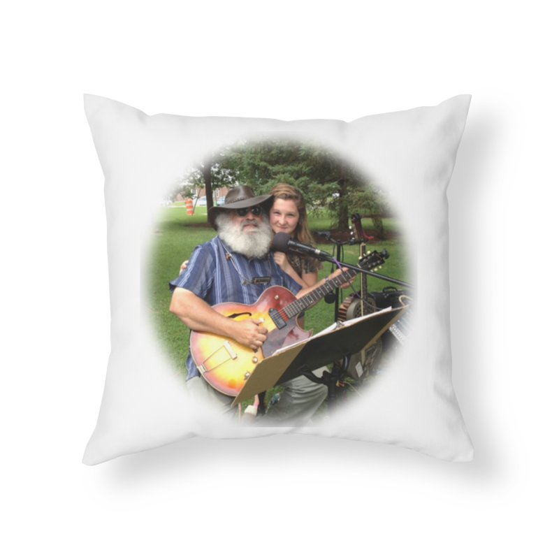 Kenz Home Throw Pillow by PapaGreyBeard's Merchandise