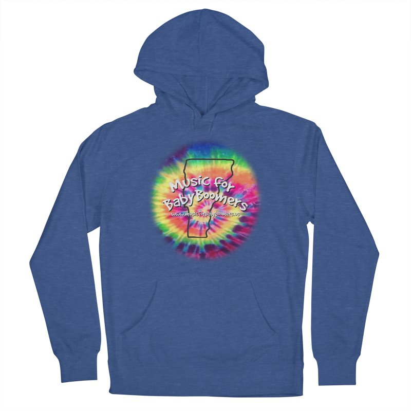 MusicForBabyBoomers-Vermont Men's Pullover Hoody by PapaGreyBeard's Merchandise