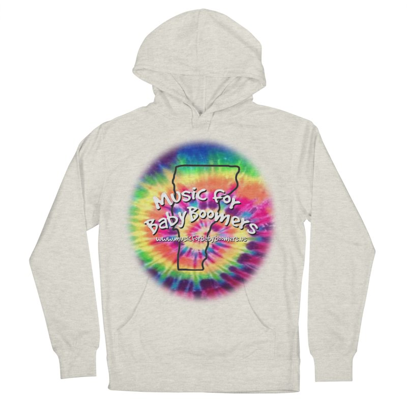 MusicForBabyBoomers-Vermont Men's French Terry Pullover Hoody by PapaGreyBeard's Merchandise