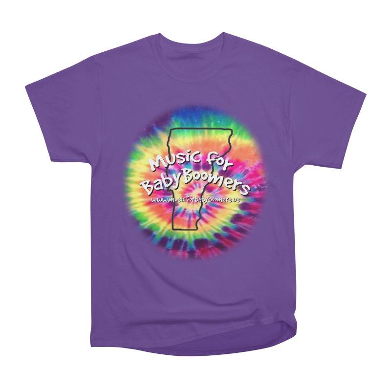 MusicForBabyBoomers-Vermont Women's Heavyweight Unisex T-Shirt by PapaGreyBeard's Merchandise