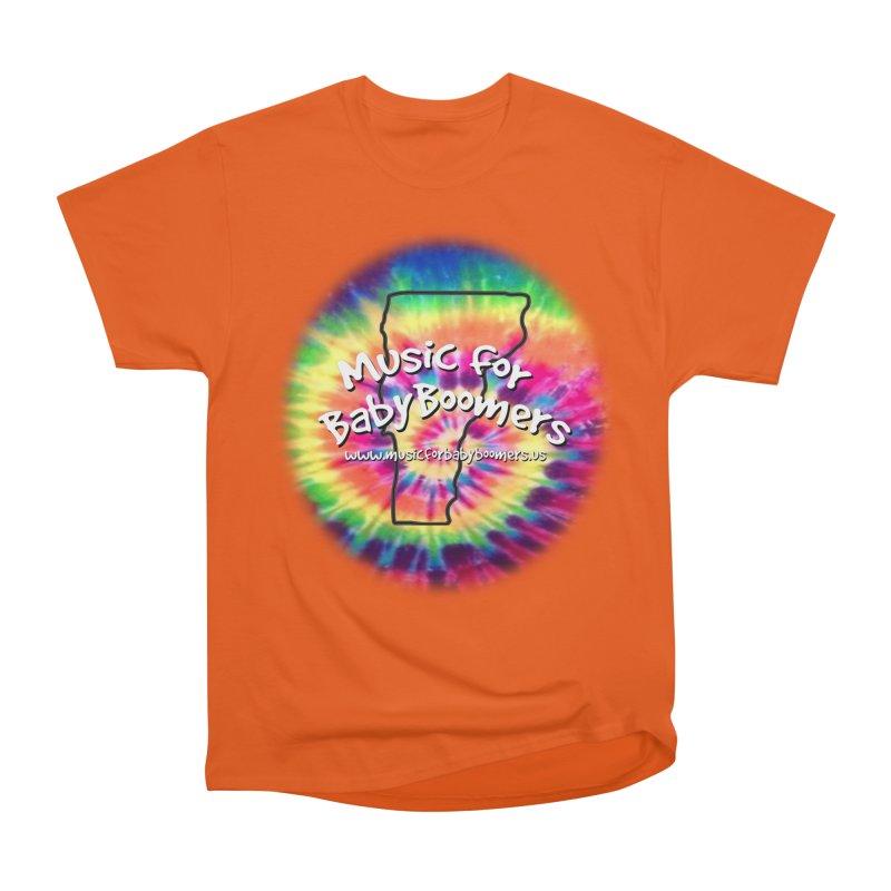MusicForBabyBoomers-Vermont Men's Heavyweight T-Shirt by PapaGreyBeard's Merchandise