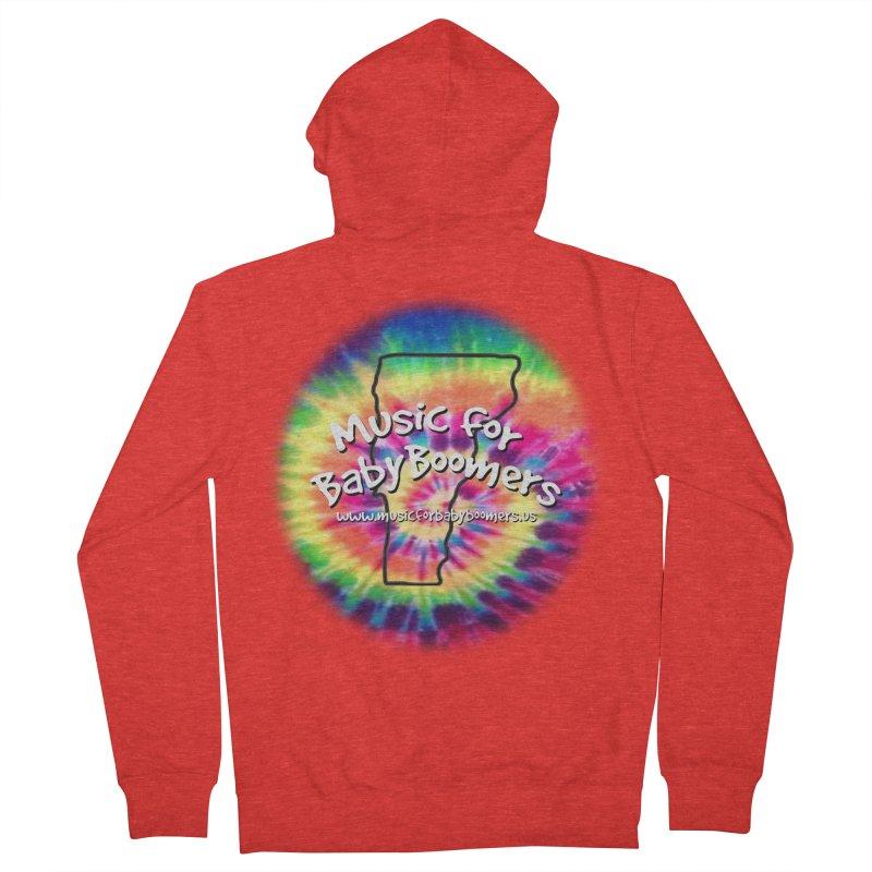 MusicForBabyBoomers-Vermont Men's Zip-Up Hoody by PapaGreyBeard's Merchandise